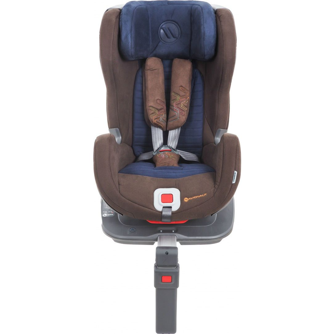 Автокресло Avionaut Glider Softy IsoFix, Brown Navy-1