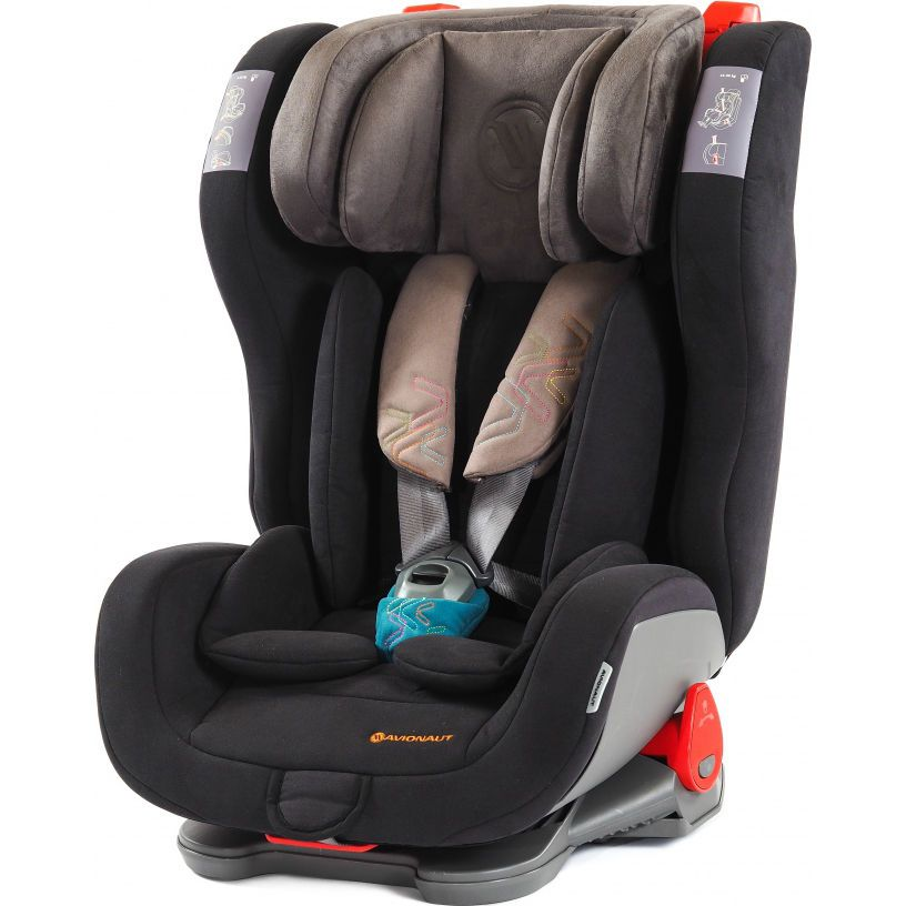 Автокресло Avionaut Evolvair Softy, Black Turquoise