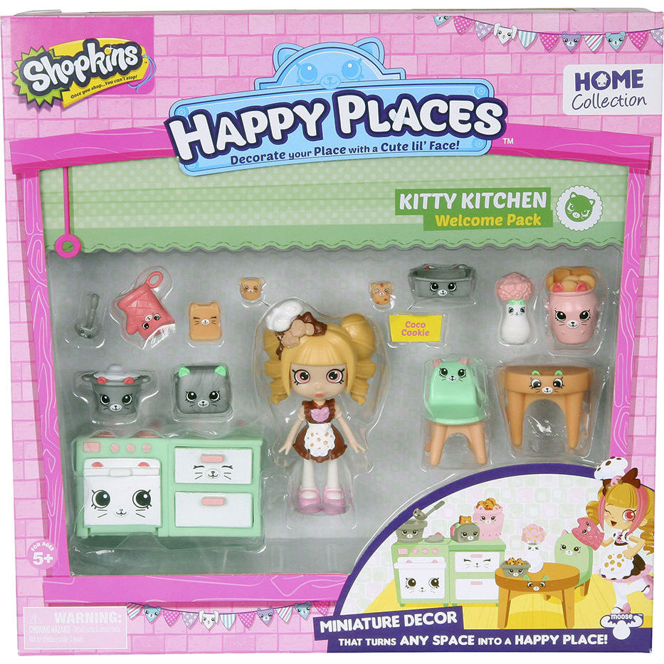 Игровой набор с куклой HAPPY PLACES S1 – КУХНЯ КОКО КУККИ-1
