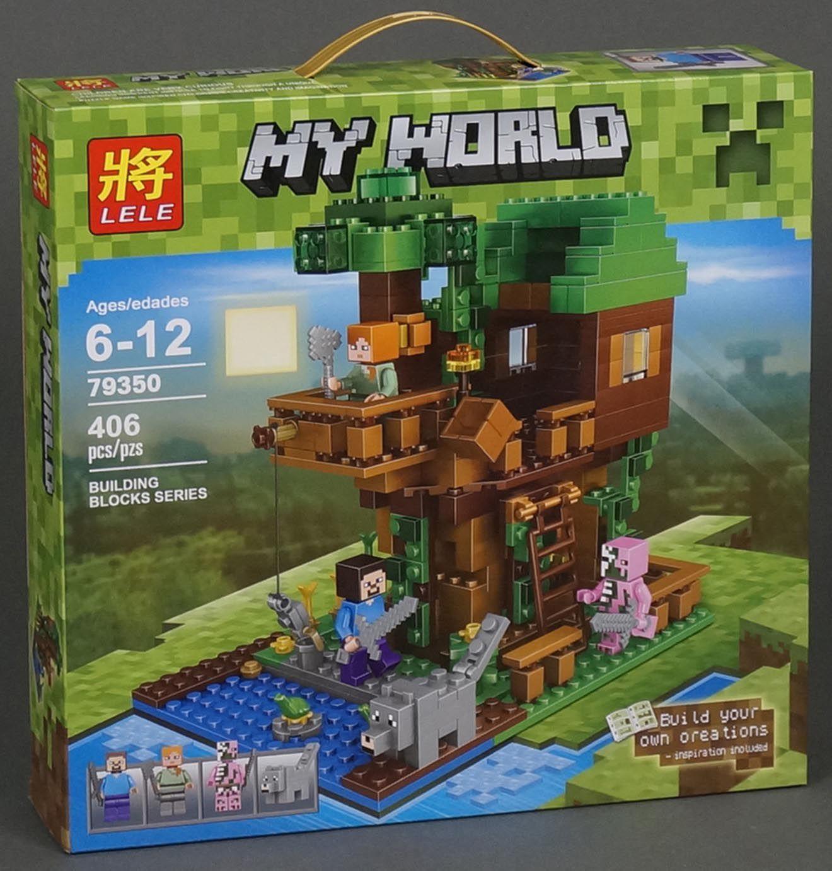 Minecraft: Дом на дереве (406 деталей) Lele Майнкрафт