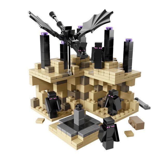 Minecraft: Эндер Дракон Мини Мир (440 детали) Bela Майнкрафт