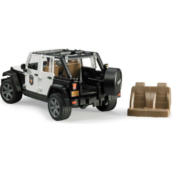 Полицейский джип Wrangler Unlimited Rubicon Bruder-1