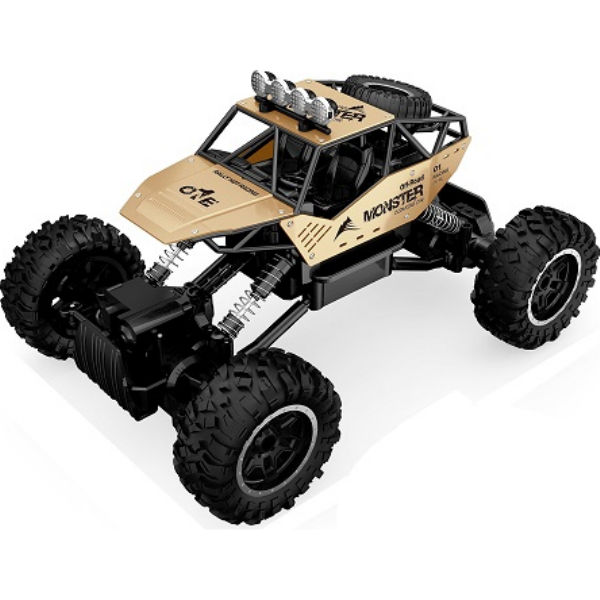 АвтомобільOFF-ROADCRAWLERнар/у-FORCE (золотий, аккум.7.2V, метал.корпус, 1: 14)