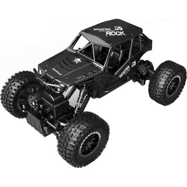 АвтомобільOFF-ROADCRAWLERнар/у-TIGER (матовийчерний, аккум.4,8V, метал.корпус, 1: 18)
