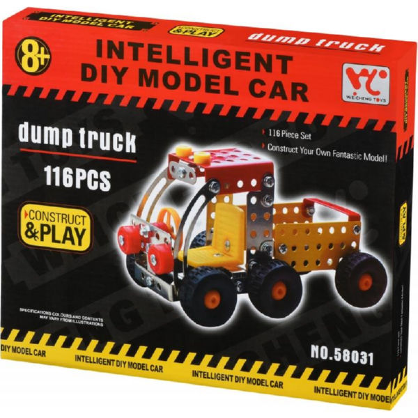 Конструктор металевий Same Toy Inteligent DIY Model Car Самоскид 116 ел. 58031Ut