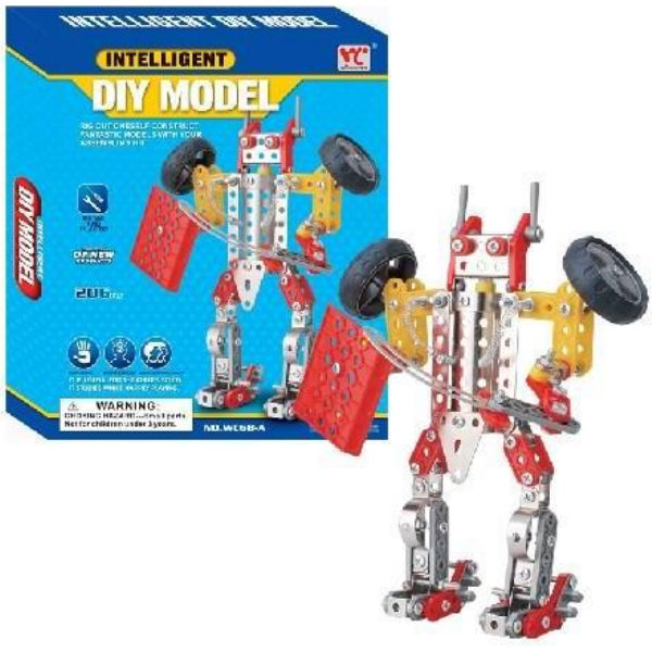 Конструктор металевий Same Toy Inteligent DIY Model 206 ел. WC68AUt