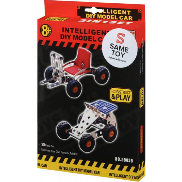Конструктор металевий Same Toy Inteligent DIY Model Car 2 моделі 58039Ut