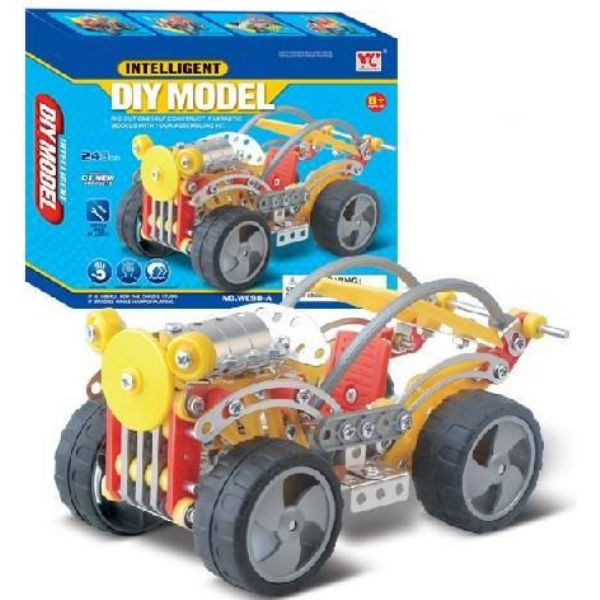 Конструктор металевий Same Toy Inteligent DIY Model 243 ел. WC98AUt