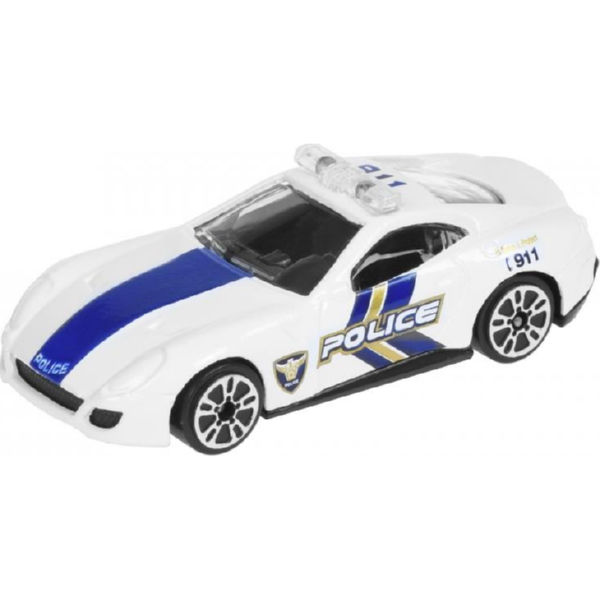 Машинка Same Toy Model Car поліція біла SQ80992-But-1