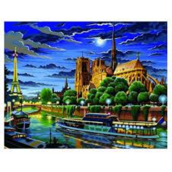 Набір для творчості Sequin Art PAINTING BY NUMBERS SENIOR Париж SA0424