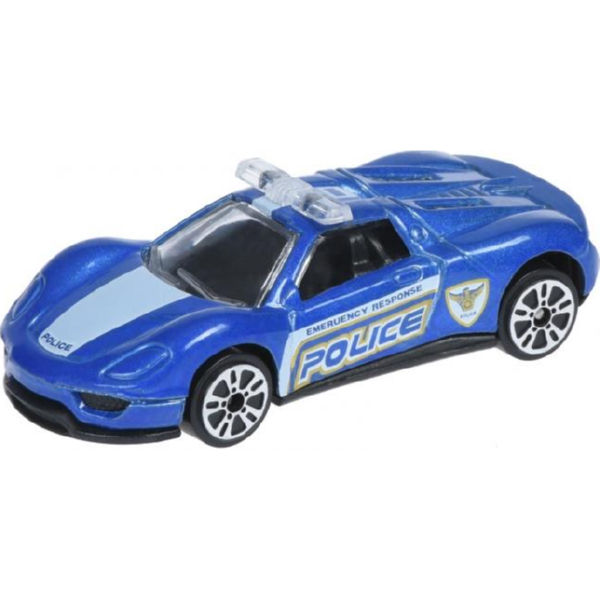 Машинка Same Toy Model Car поліція синя SQ80992-But-2