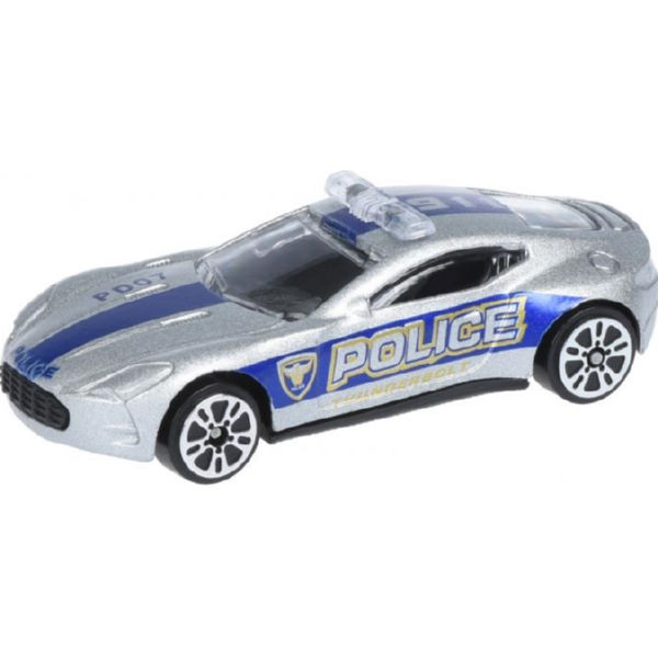 Машинка Same Toy Model Car поліція сіра SQ80992-But-6