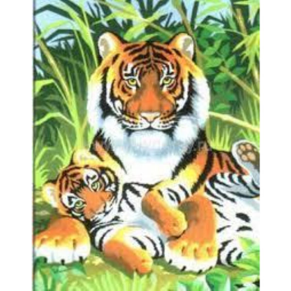 Набір для творчості Sequin Art PAINTING BY NUMBERS JUNIOR Тигри SA0029