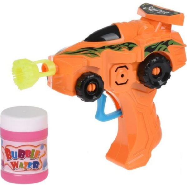 Мильні бульбашки Same Toy Bubble Gun Машинка помаранчевий 803Ut-3