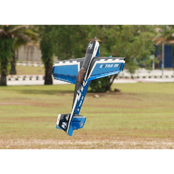 Самолёт р/у Precision Aerobatics Extra MX 1472мм KIT (синий)-1