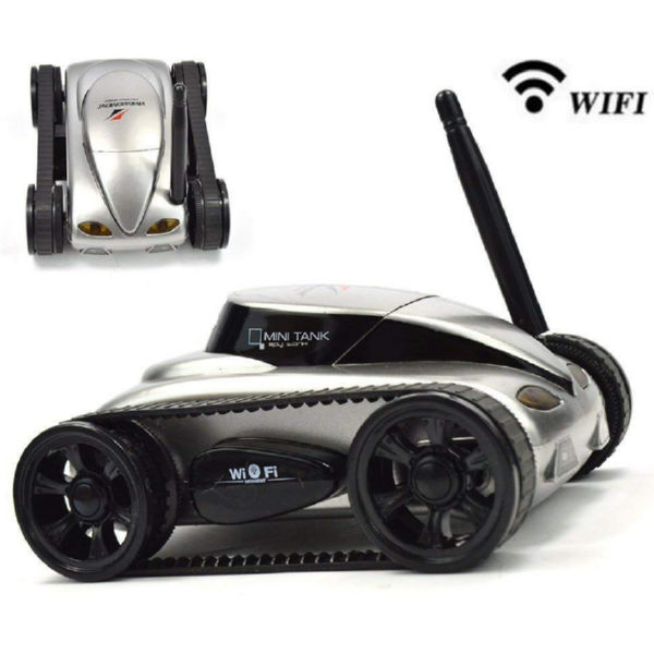 Танк-шпион Wi-Fi Happy Cow I-Spy Mini с камерой-1