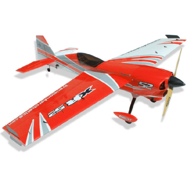 Самолёт р/у Precision Aerobatics XR-52 1321мм KIT (красный)-1