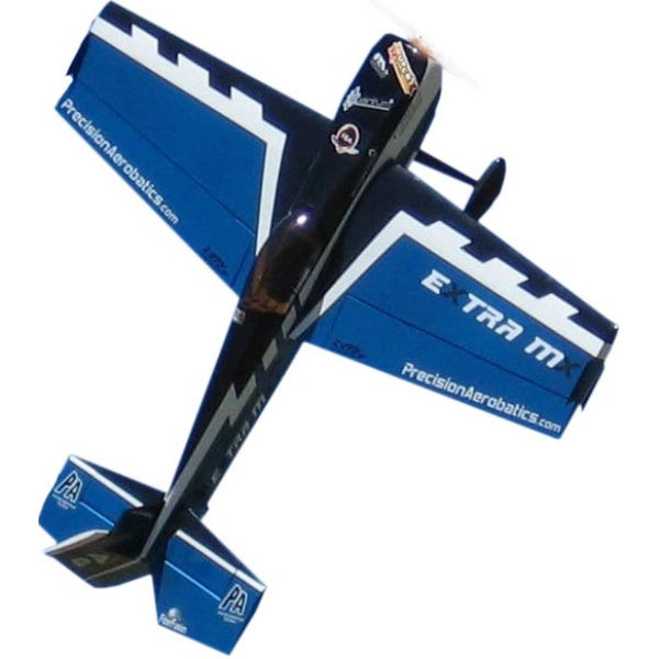 Самолёт р/у Precision Aerobatics Extra MX 1472мм KIT (синий)