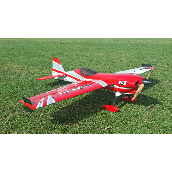 Самолёт р/у Precision Aerobatics XR-61 1550мм KIT (красный)-1