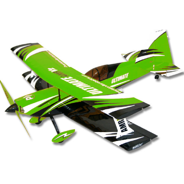 Самолёт р/у Precision Aerobatics Ultimate AMR 1014мм KIT (зеленый)