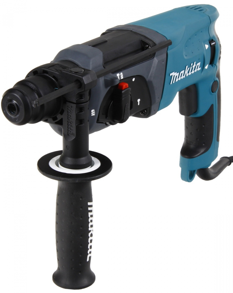 Перфоратор  Makita HR2470, SDS-plus, 780Вт, 2.4Дж, 2.6кг