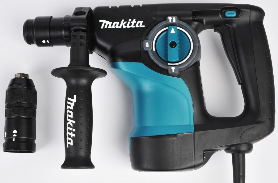 Перфоратор  Makita HR2810, SDS-plus, 800Вт, 2.8Дж, 3.5кг