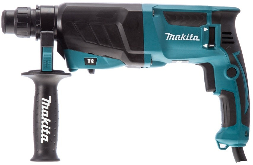 Перфоратор  Makita HR2630, SDS-plus, 800Вт, 2.4Дж, 2.8кг