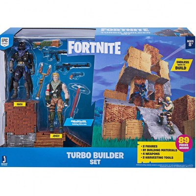 Turbo Builder Set Jonesy and Raven Fortnite