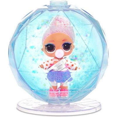 Лол блискучий шар Вінтер диско, Lol Winter Glitter Globe-1