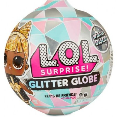 Лол блискучий шар Вінтер диско, Lol Winter Glitter Globe