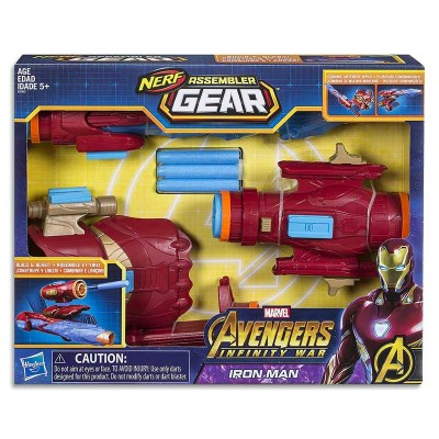 Игровой набор Nerf Assembler Gear Iron Man-1