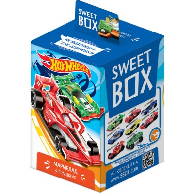 Sweet box Hot wheels | Світ бокс Хот вілс 2